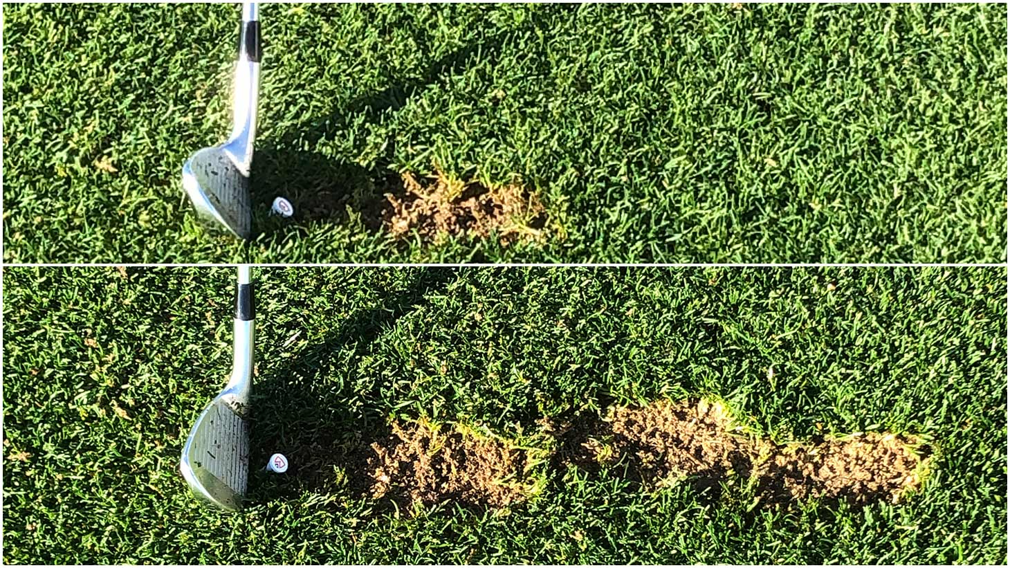 ...each divot closer to your target than the one...
