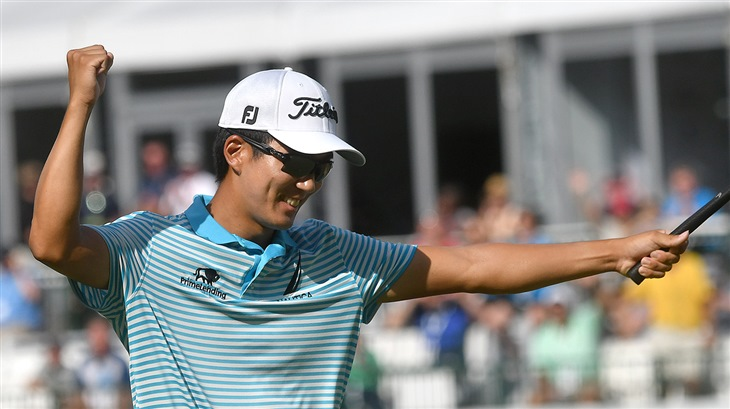 Michael Kim's Breakthrough Victory Leads 5-Win Week for Titleist Players