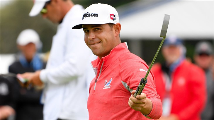 Gary Woodland is all smiles after winning the 119th U.S Open at Pebble Beach